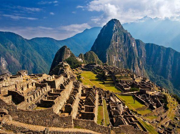 Incredible moments at the Machu Picchu Incan citadel
