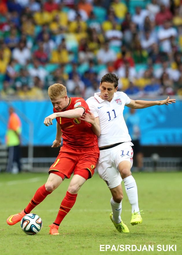 Round of 16 - Belgium vs USA